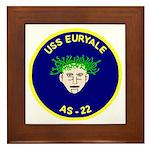 USS Euryale (AS 22) Framed Tile