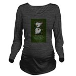 There are Always Flowers Long Sleeve Maternity T-S