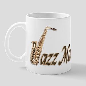 Jazz man sax saxophone Mug