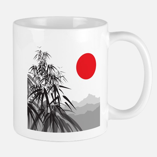 Asian Landscape Mugs