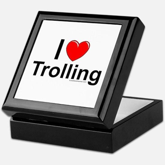 Trolling Keepsake Box