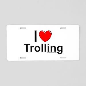 Trolling Aluminum License Plate