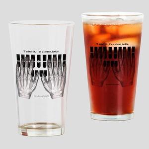 steno junkie Drinking Glass