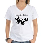 Crab Shirt Women's V-Neck