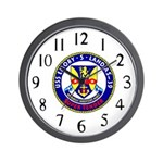 USS Emory S. Land (AS 39) Wall Clock