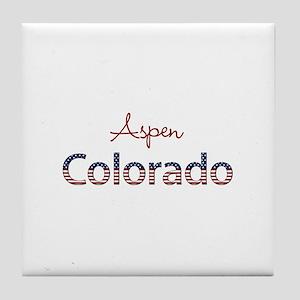 Custom Colorado Tile Coaster