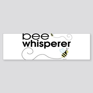 bee_whisperer_w Bumper Sticker