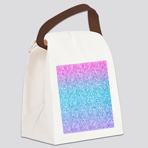 Colorful Retro Glitter And Sparkles Canvas Lunch B