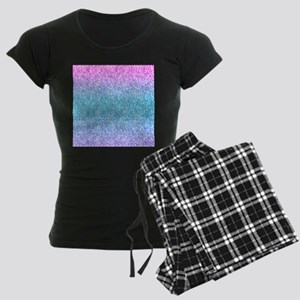 Colorful Retro Glitter And Sparkles Pajamas