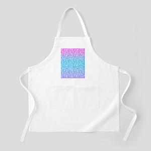 Colorful Retro Glitter And Sparkles Apron