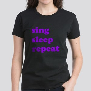 Sing Sleep Repeat (purple) T-Shirt