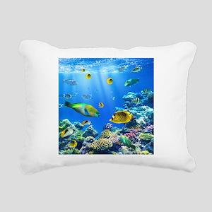 Sea Life Rectangular Canvas Pillow