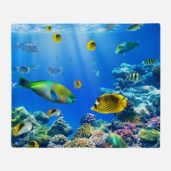 Sea Life Throw Blanket