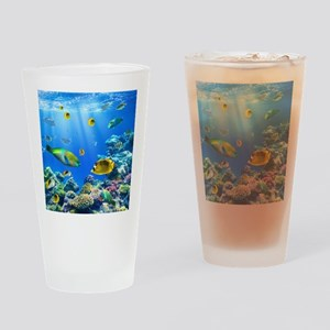 Sea Life Drinking Glass