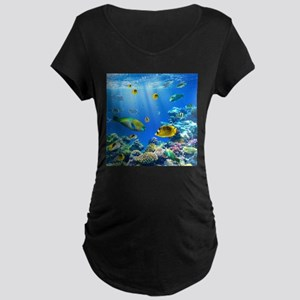 Sea Life Maternity T-Shirt
