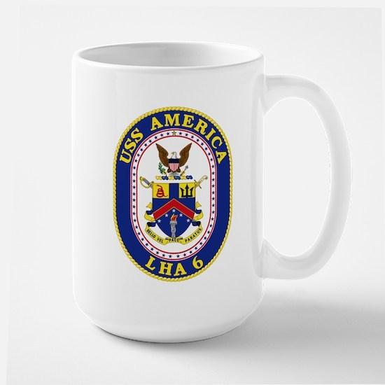 USS America LHA-6 Mugs