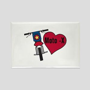 Love Moto-X Magnets