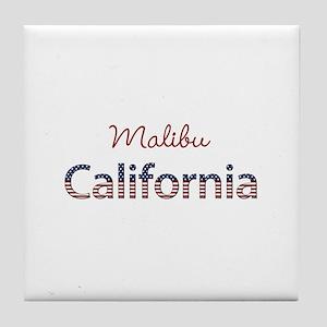 Custom California Tile Coaster