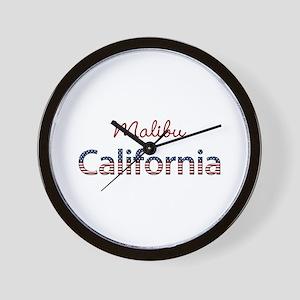 Custom California Wall Clock