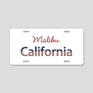 Custom California Aluminum License Plate