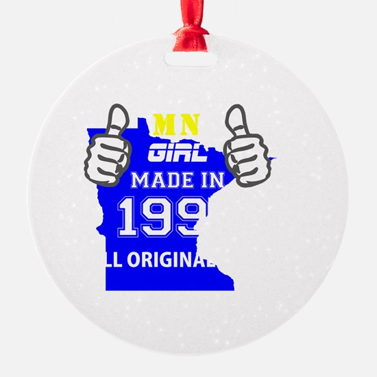 Funny Made in minnesota Ornament