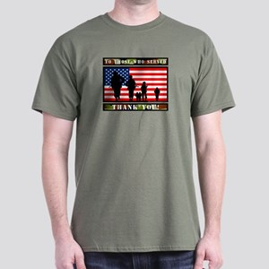 Thank You Veterans Dark T-Shirt