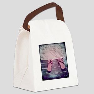 SummerDreamingBeach Canvas Lunch Bag