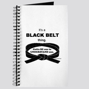 Black Belt Thing Journal