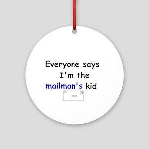MAILMAN'S KID Ornament (Round)