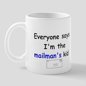 MAILMAN'S KID HUMOR Mug