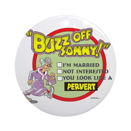 BUZZ OFF SONNY Ornament (Round)