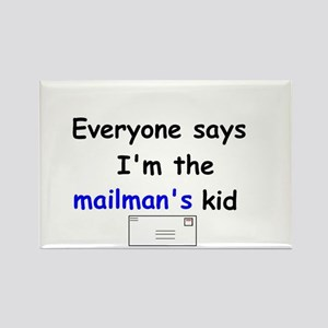 MAILMAN'S KID HUMOR Rectangle Magnet