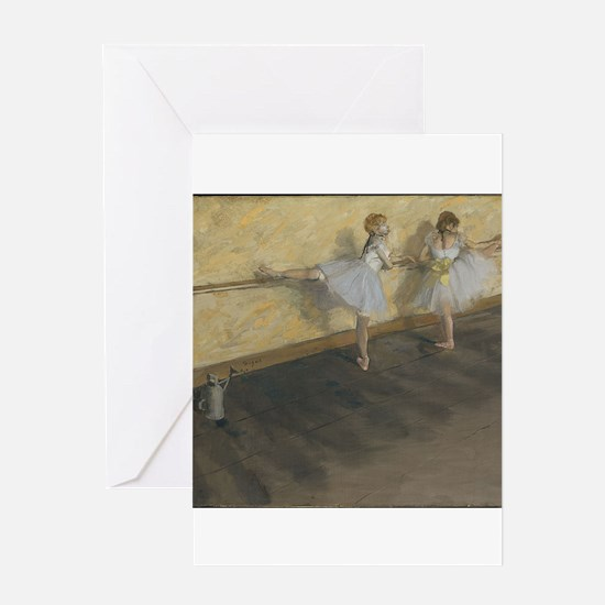 edgar degas ballerina 14 Greeting Cards