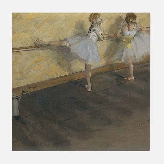edgar degas ballerina 14 Tile Coaster