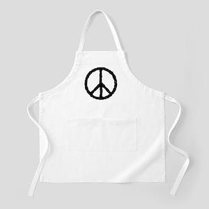 'Vintage' Peace Symbol BBQ Apron