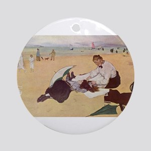 edgar degas 33 Ornament (Round)