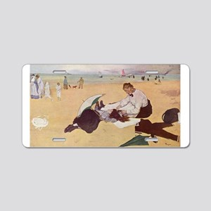 edgar degas 33 Aluminum License Plate