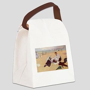edgar degas 33 Canvas Lunch Bag