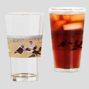 edgar degas 33 Drinking Glass