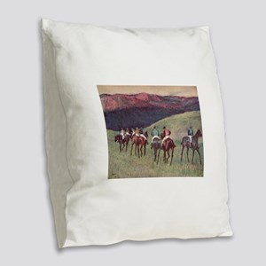29 Burlap Throw Pillow