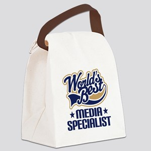 Media specialist Canvas Lunch Bag