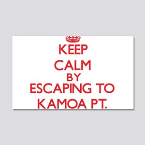 Keep calm by escaping to Kamoa Pt. Hawaii Wall Dec