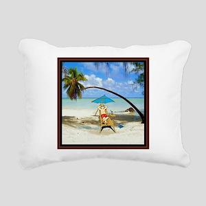 The Good Life Rectangular Canvas Pillow