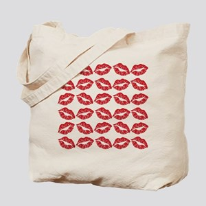 Kisses All Over Tote Bag