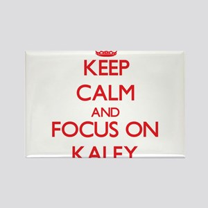 Keep Calm and focus on Kaley Magnets