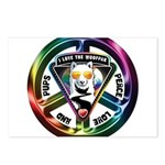 The WooFPAK Peace Sign Postcards (Package of 8)