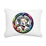 The WooFPAK Peace Sign Rectangular Canvas Pillow