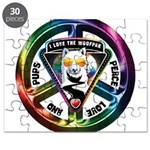 The WooFPAK Peace Sign Puzzle