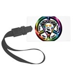 The WooFPAK Peace Sign Luggage Tag