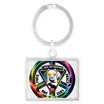 The WooFPAK Peace Sign Keychains